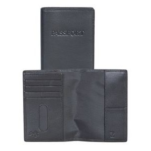 Plonge Leather Passport Case & Wallet w/ RFID Theft Protection